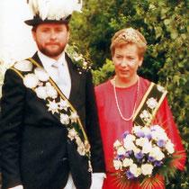 1985: Dirk Klüsener und Sigrid Klein