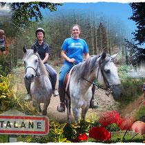 Sortie à Estalane avec Elodie (dép12 - 10km - Lun16/08/2021)