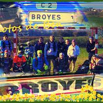 Sortie à Broyes avec Manu (dép60 - 10/17/20km - Sam27/02/2021)