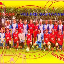 Football féminin - Saveuse/Villers Btx - Dim20/06/2021