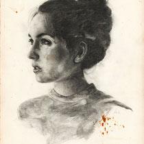 Janina, Graphit auf Papier, 2016