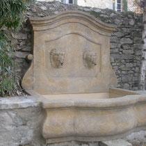 Création d'une fontaine originale au château de Buzignargues (30)