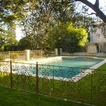 Château de Buzignargues (30) - Agrandissement de la piscine