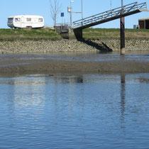 Ostern 2012 Nordschlengelbereich bis ca 1m Schlick bei MNW