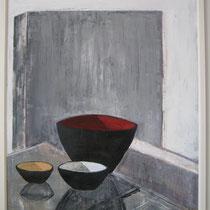 """gefäße"", 120 cm x 100 cm, acryl auf leinwand"