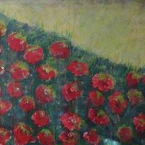 """""""wiesenblumen"""", 140 cm x 100 cm, acryl auf leinwand"""
