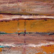 """""""weites land"""" 160 cm x 40 cm, acryl auf jute"""