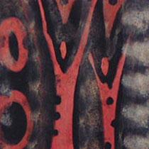 """simultangeflüster"", 140 cm x 60 cm, acryl auf leinwand"