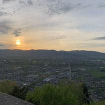 Sunset from the Schlossberg