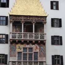 The building with the golden roof