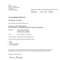 AKH - Architekten- und Stadtplanerkammer Hessen