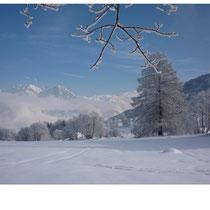vue sur la montagne de la Tarentaise