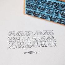 Logostempel für Sarah Maria Besgen