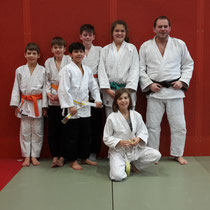 Judo Club Stockerau: Dreikönigslager in Wimpassing mit Philipp Bauer, Nicklas Schwarz, Jonas Schwarz, Hamed Husseini, Veronika Cacic, Hanna Schnabl und Markus Betz