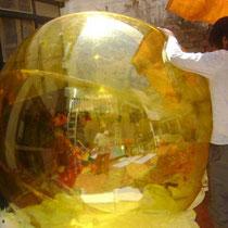 pelota gignate trasparente