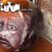 pelotas gigantes impresas