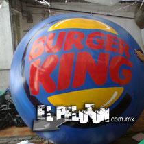 pelota rotulada gigante
