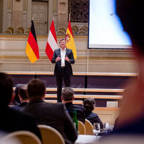 International Keynote Speaker Marc Hauser. Foto: Swiss Cyber Storm, Matthias Käser
