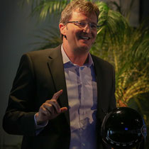 Redner   Referent   Keynote Speaker   Gastredner   Mut + Motivation: Marc Hauser, erfolgswelle® AG (Foto Eve Lagger)