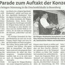 Nachberichterstattung Pirmasenser Zeitung, 13.04.2011
