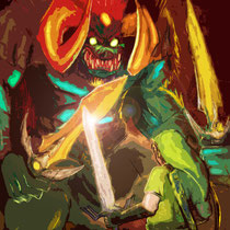 "Ganon - from ""The Legend of Zelda: Ocarina of Time"""