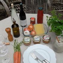 Ce soir : lasagnes aux tartinades du Sud ... (provençale, aux olives, ou mexicaine)