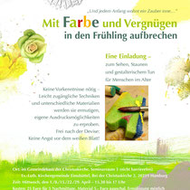 Einladungsplakat für den Workshop