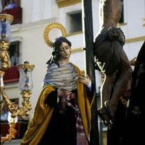 267.14 Il paso del Cristo della Confradia de Las Aguas. © 1999 Alessandro Tintori