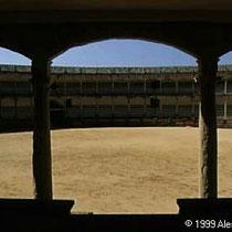 294.18 Ronda. Una vista dagli spalti della Plaza de Toros di Ronda. © 1999 Alessandro Tintori.