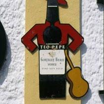 293.28 Il logo che ha reso celebre nel mondo il marchio Tio Pepe venne disegnato nel 1930 da Picasso. © 1999 Alessandro Tintori