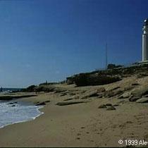 296.32 Cabo de Trafalgar. Il faro di Capo Trafalgar. © 1999 Alessandro Tintori