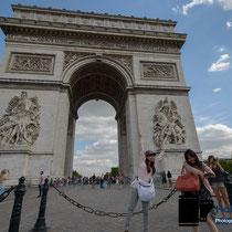 Zu Besuch in Paris - Arc de Triumphe © Holger Hütte 2014