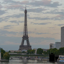 Zu Besuch in Paris - Abendsonne © Holger Hütte 2014