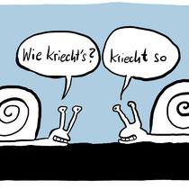 """""""Schnecken"""" - © Arnulf Kossak"""
