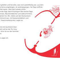 """""""Kind in mir"""" zu einem Text von Caroline Hofer, persönliche Arbeit, 2009 - © Wolfgang Hauer"""