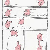 """""""Schweinchen"""" - © Arnulf Kossak"""