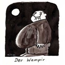 """Wampir"" - © Arnulf Kossak"
