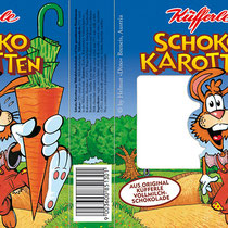 Schoko-Karotten, Lindt & Sprüngli - © Helmut »Dino« Breneis