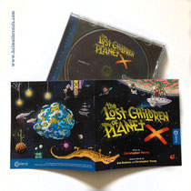 """the Lost Children of Planet X"" - Booklet & CD, Caldera Records Germany - © Helmut »Dino« Breneis"