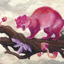 """Red Marten"" - © Lisa »Miss Felidae« Arnberger"