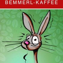 """Bemmerkaffe"", Etikettenserie für Hrovat´s röstet, 2012 - © Wolfgang Menschhorn"