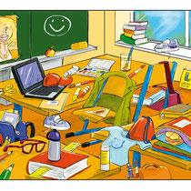 """""""Deutschstunde 1"""", Veritas Verlag - © Arnulf Kossak"""