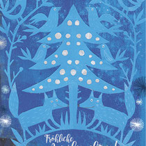 Weihnachtskarte, 2016 - © Leonora Leitl