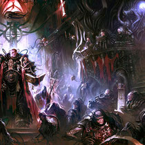 """Dark Heresy"" (2nd Edition Cover) - © Mathias Kollros"
