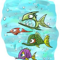 """""""Fische 2"""" - © Arnulf Kossak"""
