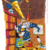 """""""Der alte Zauberer"""" - © Helmut »Dino« Breneis"""