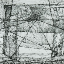 The Door of Time, 65cm x 100cm, Graphite auf Papier, € 1300