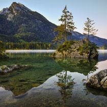 Hintersee im NP Berchtesgaden