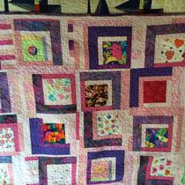 Een van de eerste quilts op mijn machine.