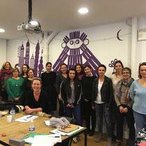Masterclass organisée par l'Ecole du Livre, Montreuil en 2018